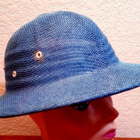 GTH Accessories - Vintage GTH Golf Tennis Headwear Safari Woven hat c6062cf24ea